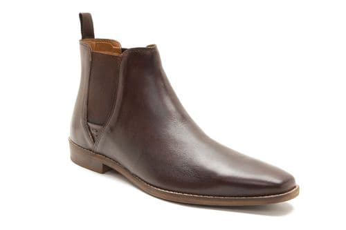Red Tape Tapton Brown Chelsea Boots